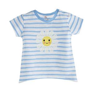 Kız Çocuk Kısa Kol Tişört Violet (0-2 yaş)
