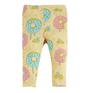 Pop Girls Dondurma Cupcake Kısa Kol Tişört Açık Sarı (0-2 yaş)