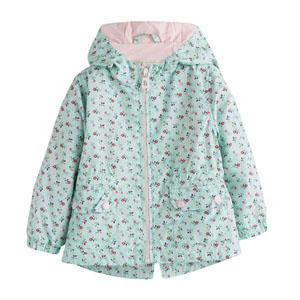 Pop Girls Çiçekli Yağmurluk Baskılı (0-2 yaş)