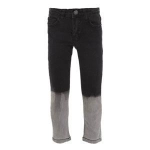 Erkek Çocuk Kot Pantolon Siyah (3-12 yaş)