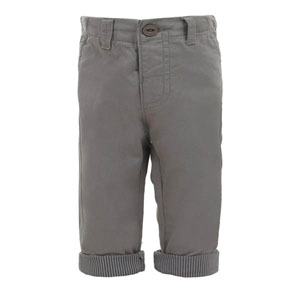 Erkek Bebek Pantolon Gri (56-92 cm)