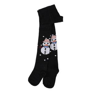 Kız Çocuk Külotlu Çorap Siyah (19-30 numara)