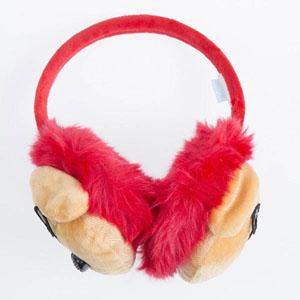 Kız Çocuk Kulaklık  Kırmızı (4-12 yaş)