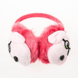 Kız Çocuk Kulaklık Koyu Pembe (4-12 yaş)
