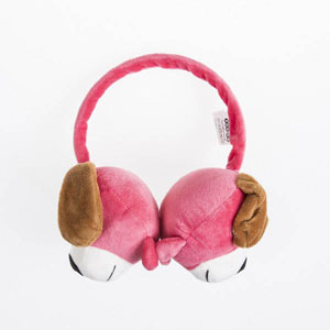 Kız Çocuk Kulaklık Fuşya (4-12 yaş)