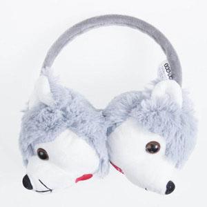 Kız Çocuk Kulaklık Gri (4-12 yaş)