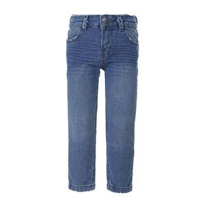 Kız Çocuk Kot Pantolon Açık Mavi (3-7 yaş)