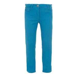 Kız Çocuk Pantolon Su Mavi (3-7 yaş)