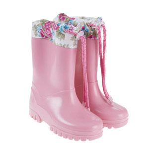 Kız Çocuk Yağmur Botu Pembe (26-35)