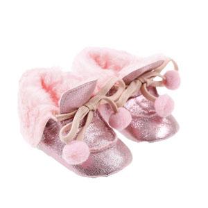 Kız Bebek Patik Pembe (17-19 numara)