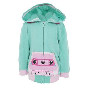 Kız Bebek Sweatshirt Yeşil (56-92 cm)