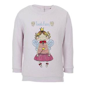 Kız Çocuk Sweatshirt Mat Pembe (56-92 cm)
