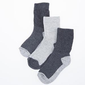 Kız Çocuk Havlu Çorap Antrasit (19-34 numara)