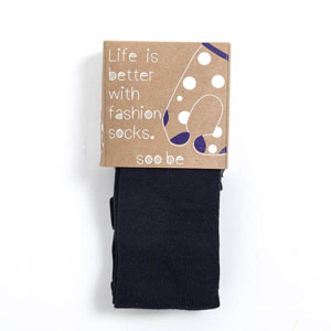 Kız Çocuk Külotlu Çorap Lacivert (19-34 numara)