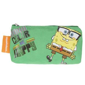 Sponge Bob Erkek Çocuk Kalemkutu Yeşil