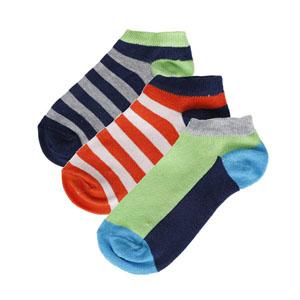 Erkek Çocuk Üçlü Çorap Set Lacivert (23-34 numara)