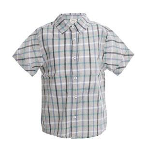 Erkek Çocuk Kısa Kol Gömlek Ekose (3-12 yaş)