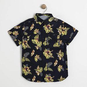 Erkek Çocuk Kısa Kol Gömlek Lacivert (3-7 yaş)