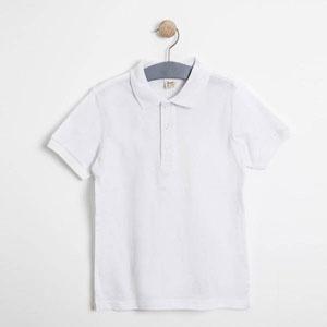 Erkek Çocuk Kısa Kol Tişört Beyaz (3-12 yaş)