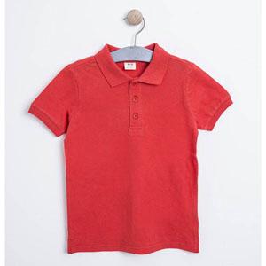 Erkek Çocuk Kısa Kol Tişört Nar (3-12 yaş)