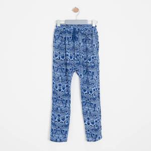 Kız Çocuk Şalvar Pantolon Mavi (8-12 yaş)