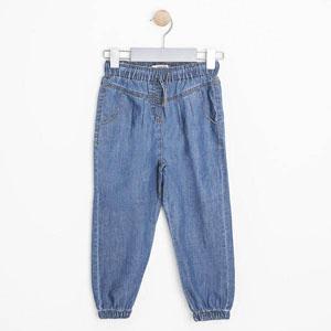 Kız Çocuk Kot Pantolon Mavi (3-12 yaş)