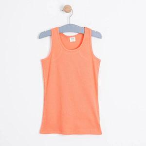 Kız Çocuk Kolsuz Tişört Pink Apricot (8-12 yaş)