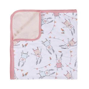 Kız Bebek Battaniye Açık Pembe Standart