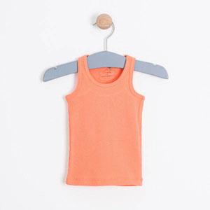 Kız Bebek Kolsuz Tişört Pink Apricot (0-2 yaş)