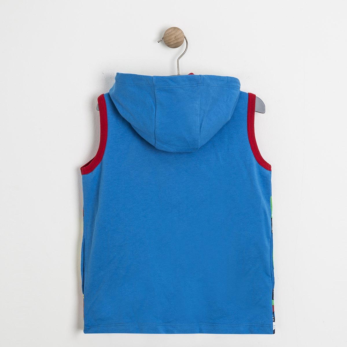 Erkek Çocuk Yelek Mavi (1-7 yaş)