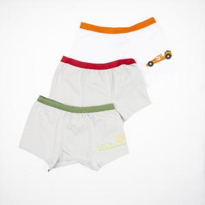 Erkek Çocuk Üçlü Boxer Set Gri (8-12 yaş)