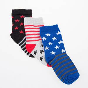 Erkek Çocuk Üçlü Bilek Üstü Çorap Lacivert (23-34 numara)