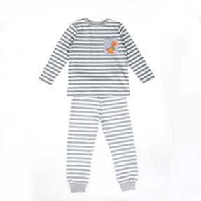 Erkek Çocuk Pijama Takımı Gri (3-7 yaş)