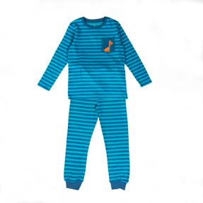 Erkek Çocuk Pijama Takımı Mavi (3-7 yaş)