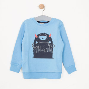 Erkek Çocuk Sweatshirt Bulut (3-7 yaş)