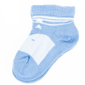 Erkek Bebek Çorap Set Açık Mavi (14-22 numara)
