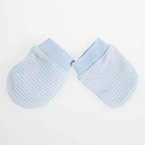 Erkek Bebek Eldiven Açık Mavi