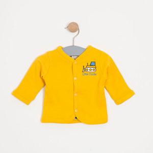 Erkek Bebek Hırka Karamel (0-2 yaş)