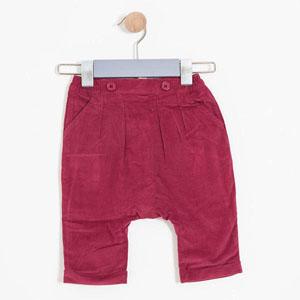 Erkek Bebek Pantolon Kırmızı (0-3 yaş)