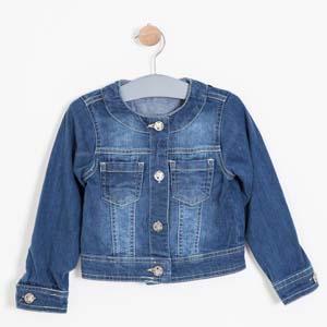 Kız Çocuk Ceket İndigo (8-12 yaş)