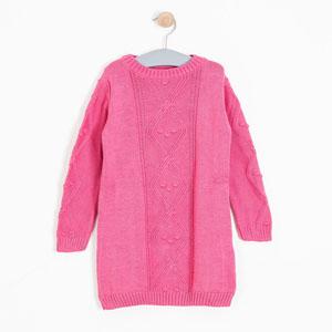 Kız Çocuk Elbise Şeker Pembe (8-12 yaş)