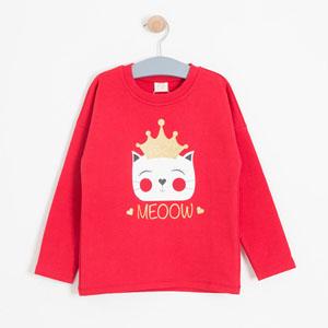 Kız Çocuk Sweatshirt Kırmızı (8-12 yaş)