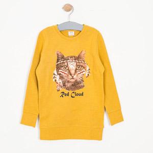 Kız Çocuk Sweatshirt Küf Sarı (8-12 yaş)
