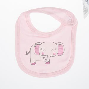 Kız Bebek Önlük Açık Pembe