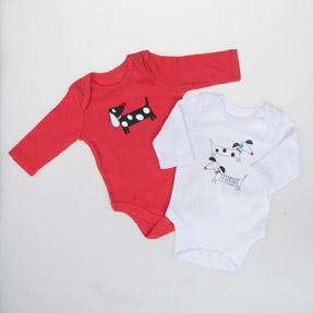 Bebek İkili Badi Kırmızı (0-2 yaş)