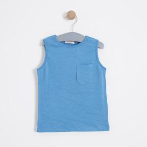 Erkek Çocuk Atlet Mavi (3-12 yaş)