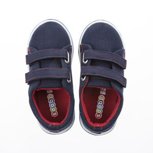 Erkek Çocuk Keten Ayakkabı Lacivert (22-29 numara)