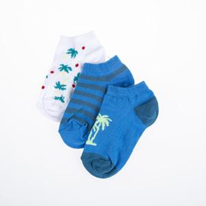 Erkek Çocuk Üçlü Çorap Petrol (23-34 numara)