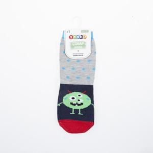 Erkek Çocuk Soket Çorap Kırmızı (23-34 numara)
