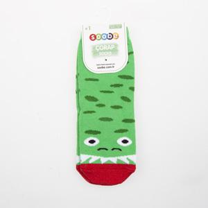 Erkek Çocuk Soket Çorap Yeşil (23-34 numara)